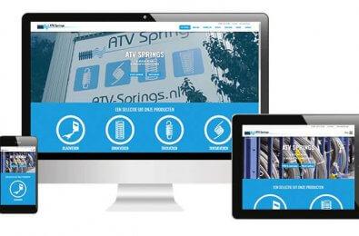 Nieuwe website online ATV Springs
